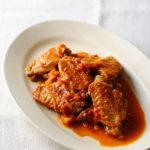 鶏のビネガー煮